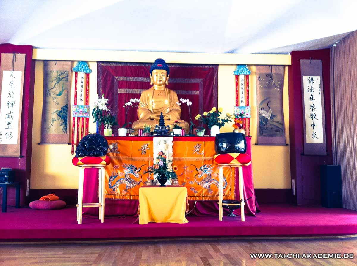 Die Buddhahalle des Shaolin Tempel Deutschland.