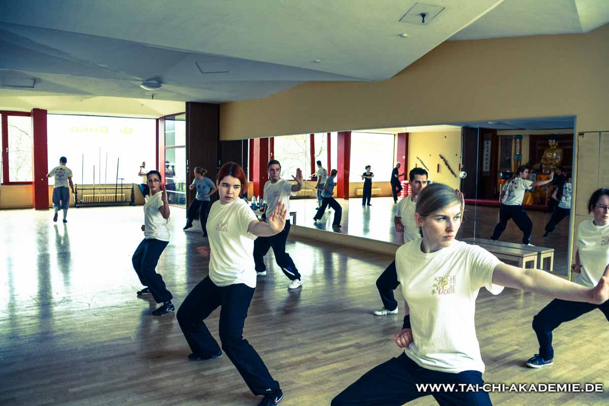 2. Katrin beim Training im Shaolin Tempel in Berlin