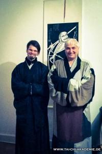 Meister Shi Yan Cheng und sein Schüler Heng Qian Zhi