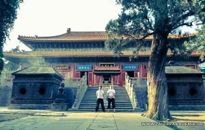 die Haupthalle des Tempels in Dengfeng