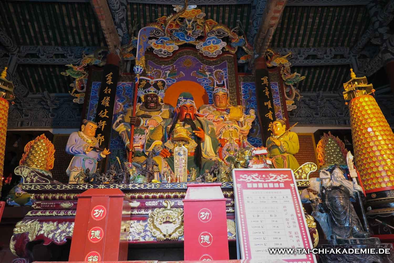 Einer der Altäre zu Ehren von Gerneral Guan Yu