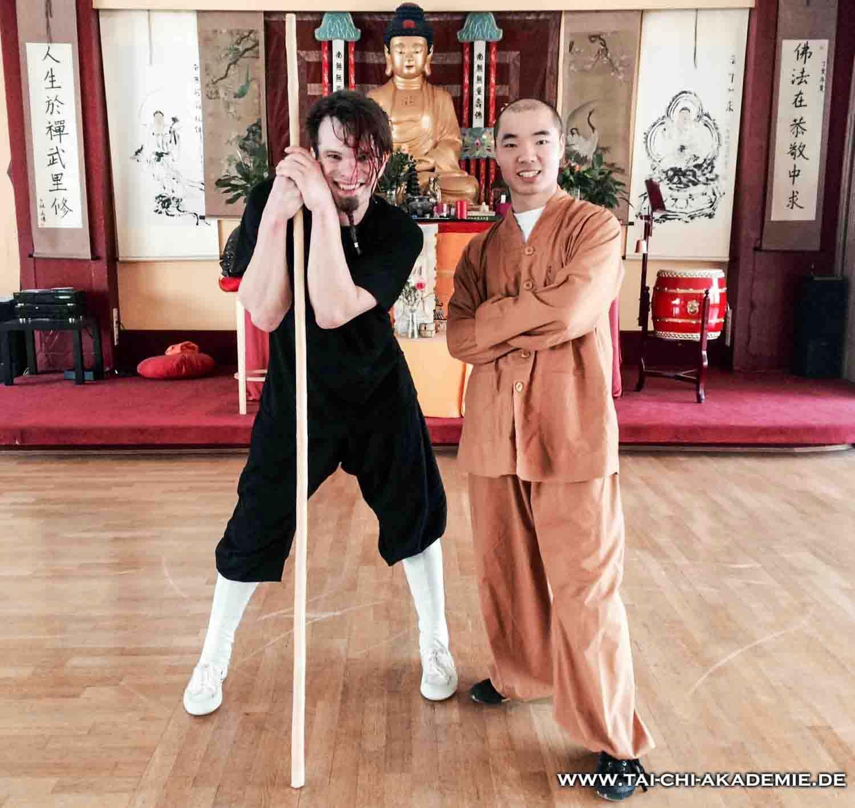 Weitere Ausbildungsorte von Jörg sind der Shaolin Tempel Berlin und das Shaolin Zentrum in Bielefeld.